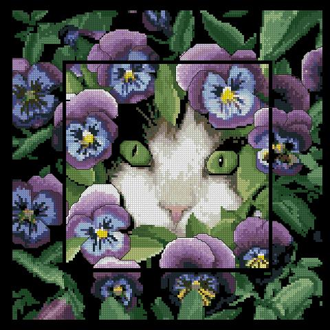 http://kalinka28.gallery.ru/watch?a=wJW-bpcR.  Времена года ,,Коты.