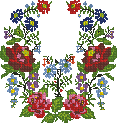 Вышиванка, орнамент