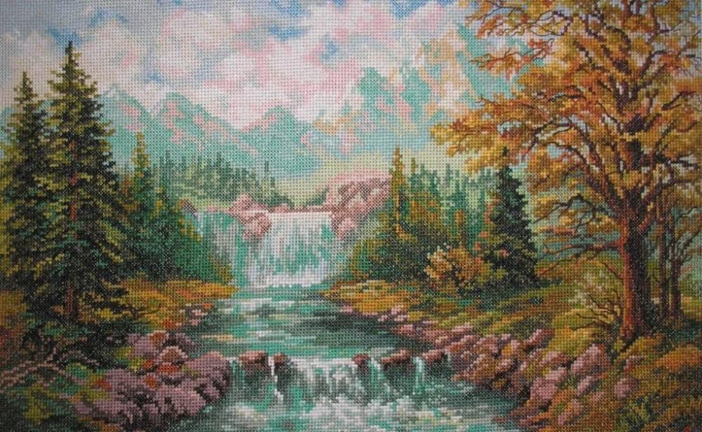Каталог вышивки крестом пейзажи