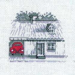 Приключение красной машинки схема вышивки