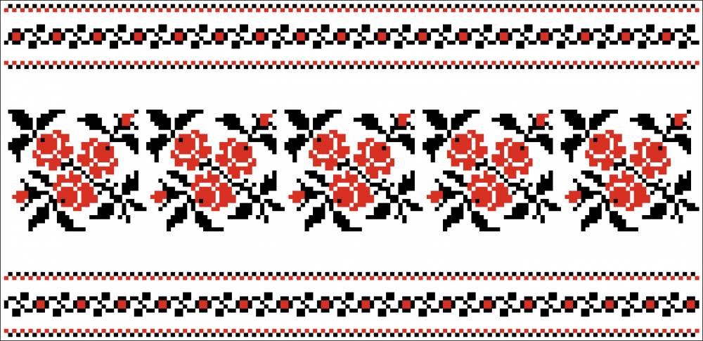 Орнамент украинской вышивки 57